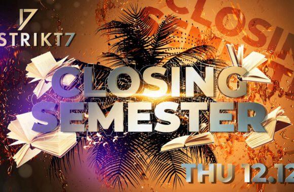 Latino closing semestr 12. 12. 2019 at 22:00