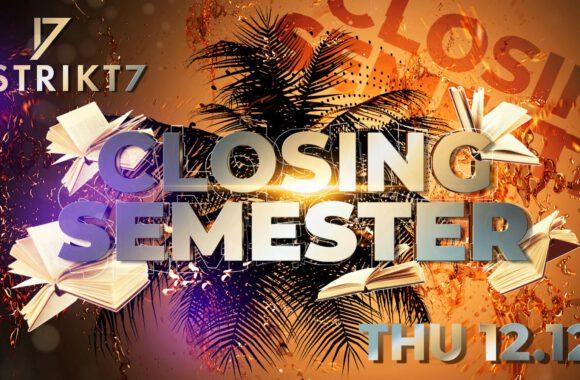 Latino closing semestr 12. 12. 2019 od 22:00