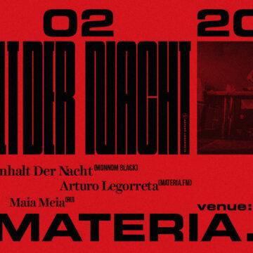 Materia.fm: Inhalt Der Nacht (Monnom Black) – 7. 2. 2020 od 23:00