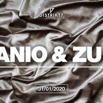 Manio & Zu & guest – 31. 1. 2020 od 22:00