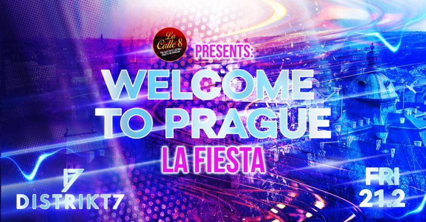 La Fiesta: Welcome to Prague 2020 – 21. 2. 2020 od 22:00