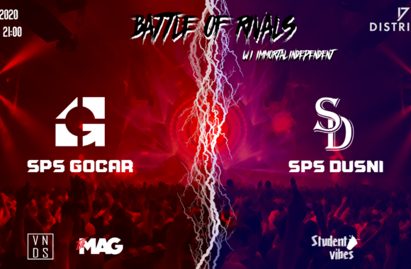 Battle of Rivals – Gočár vs Dušní – 17. 1. 2020 at 21:00