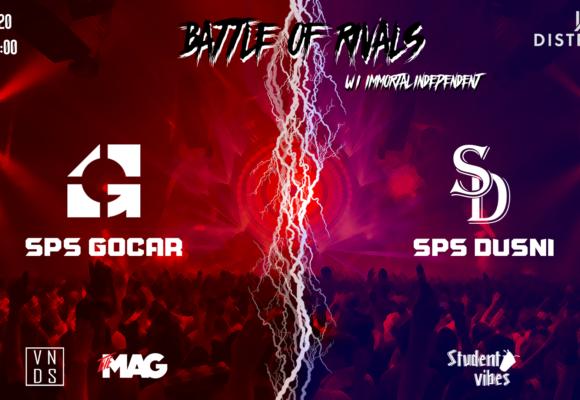 Battle of Rivals – Gočár vs Dušní – 17. 1. 2020 od 21:00
