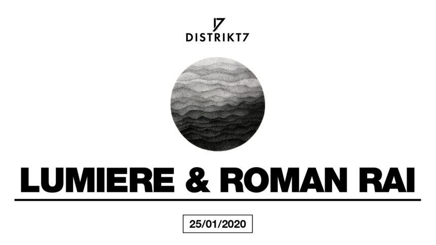 Lumiere & Roman Rai – 25. 1. 2020 od 22:00