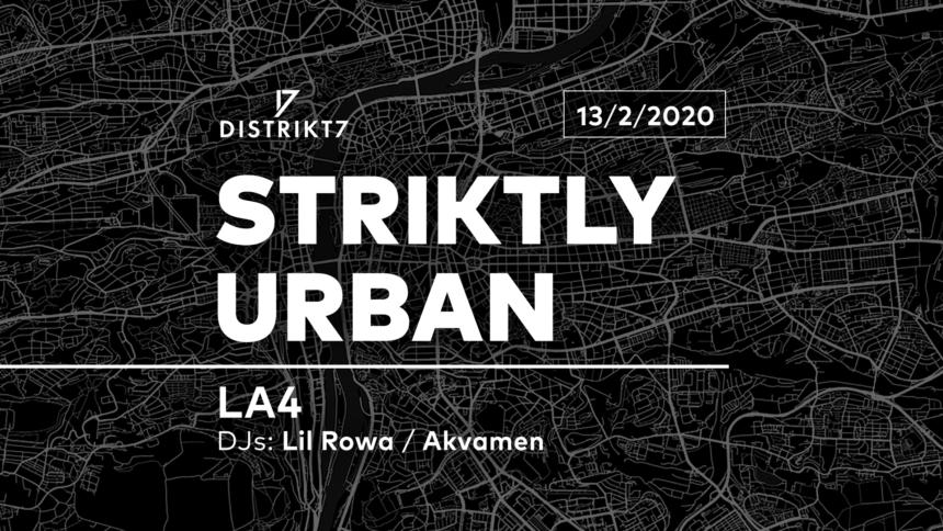 Striktly Urban – 13. 2. 2020 od 21:00