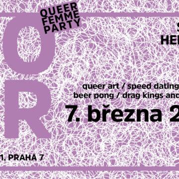 BOBR queer femme party IV. – 7. 3. 2020 od 20:00