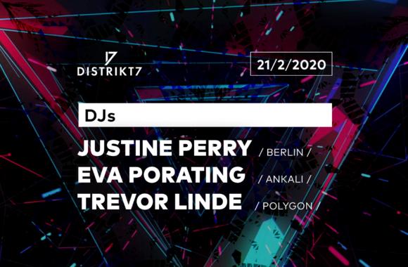 Justine Perry/Eva Porating/Trevor Linde- 21. 2. 2020