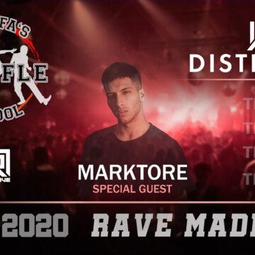 ★Rave Madness★ w/ Marktore – 18. 4. 2020 od 20:00