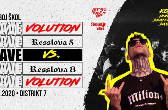 RAVEvolution I Resslova 5 VS Resslova 8 – 27. 3. 2020