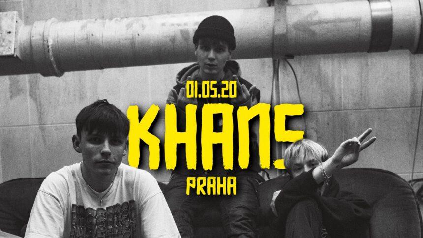 Khans v Praze – 1. 5. 2020 od 21:00