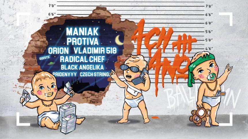 Ach Ano III křest: Maniak – 3. 4. 2020 od 21:00